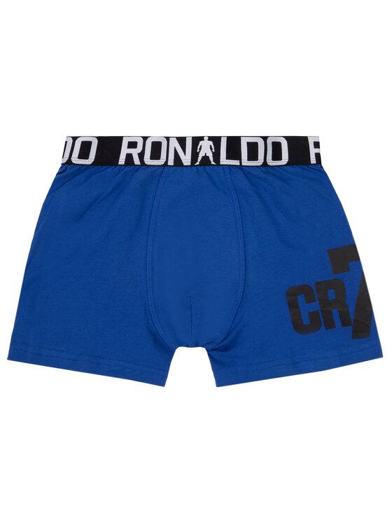 Cristiano Ronaldo CR7 Cristiano Ronaldo CR7 Komplet 2 par bokserek Boy's Trunk 8400-51-461 Granatowy