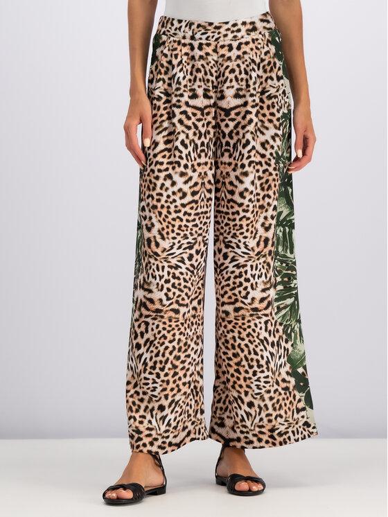 Guess Guess Pantaloni di tessuto W92B71 WBKP0 Marrone Comfort Fit