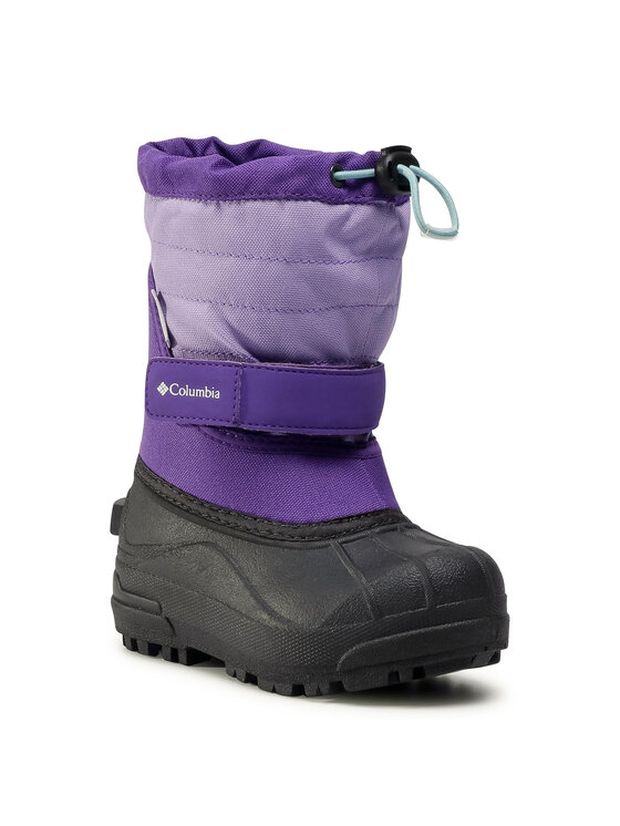 Columbia Columbia Śniegowce Childrens Powderbug™ Plus II BC1326 Fioletowy