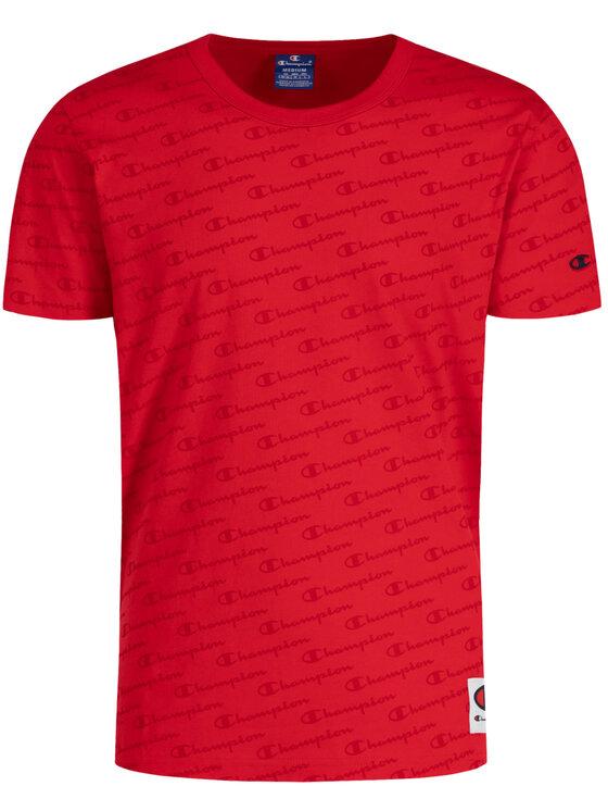 Champion Champion T-Shirt 212807 Červená Custom Fit