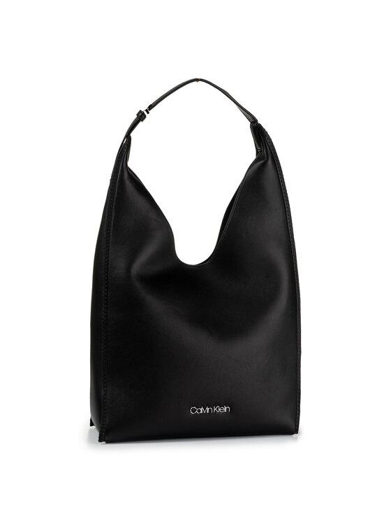 Calvin Klein Calvin Klein Torebka Mellow Hobo K60K605616 Czarny