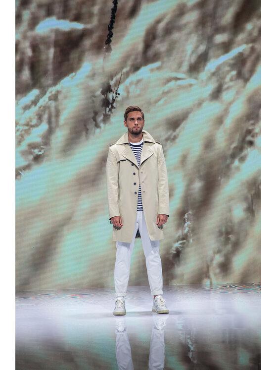 Oscar Jacobson Oscar Jacobson Spodnie materiałowe Danwick 5176 4305 Biały Slim Fit