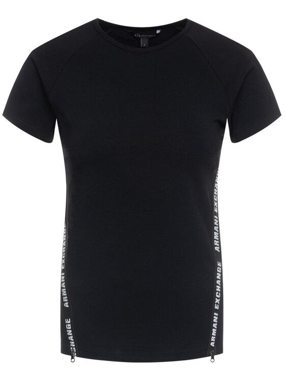 Armani Exchange Armani Exchange T-Shirt 3HYMAN YJ90Z 1200 Μαύρο Slim Fit