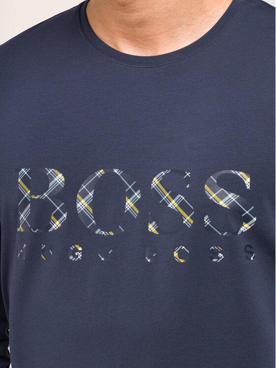Boss Boss Pizsama Dynamic Long Set 50414826 Sötétkék Regular Fit