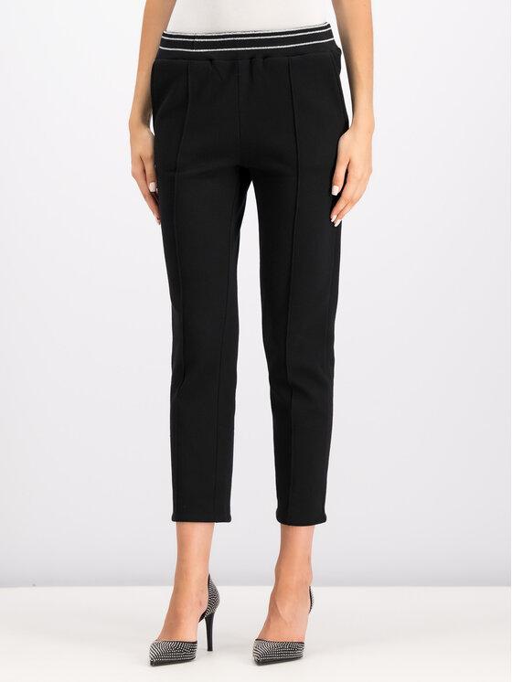 TwinSet TwinSet Pantaloni da tuta 192LI2GCC Nero Regular Fit