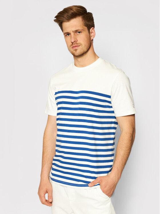 Jack&Jones PREMIUM Marškinėliai Bluwilson Crew Neck 12187671 Balta Regular Fit