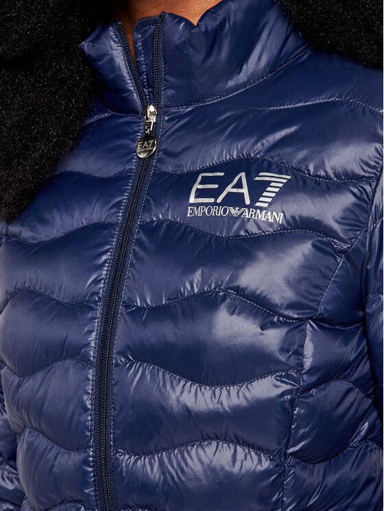 EA7 Emporio Armani EA7 Emporio Armani Пухено яке 8NTB21 TN12Z 1554 Тъмносин Slim Fit