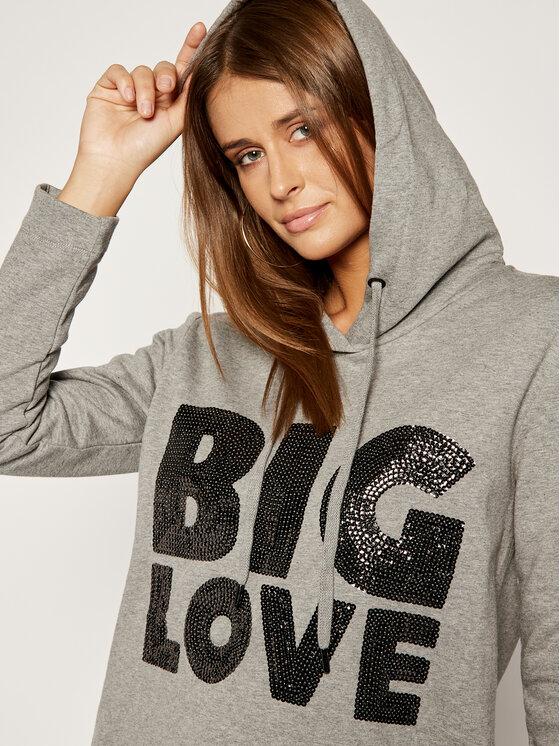 LOVE MOSCHINO LOVE MOSCHINO Sukienka dzianinowa W5B1901E2117 Regular Fit
