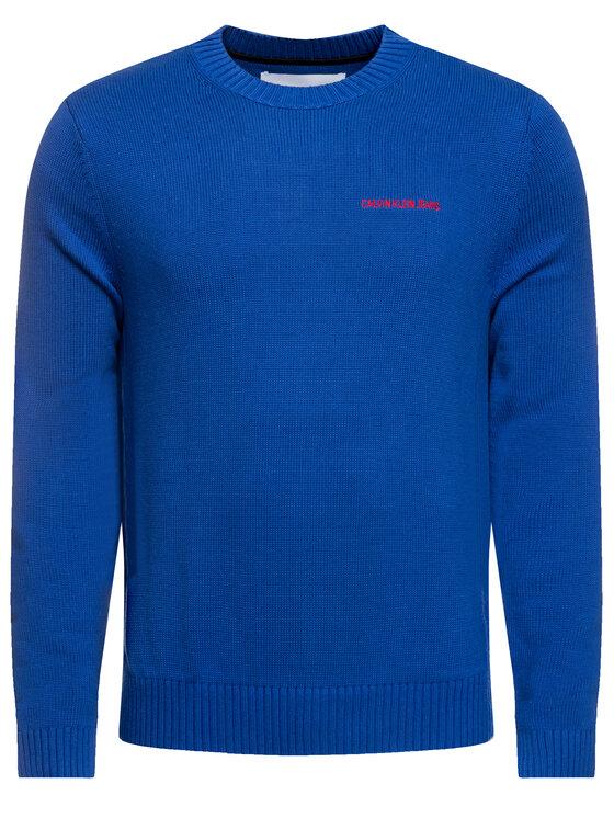 Calvin Klein Jeans Calvin Klein Jeans Πουλόβερ Instit J30J313480 Μπλε Regular Fit