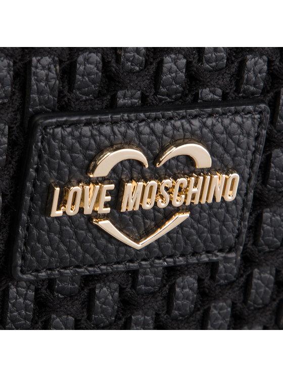 LOVE MOSCHINO LOVE MOSCHINO Дамска чанта JC4293PP07KM100A Черен
