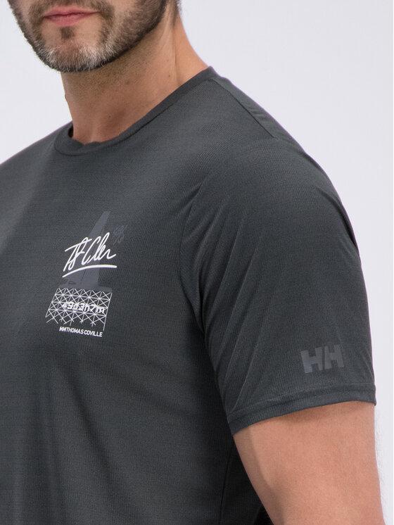 Helly Hansen Helly Hansen T-shirt Hp Circumnavigation 34065 Grigio Regular Fit