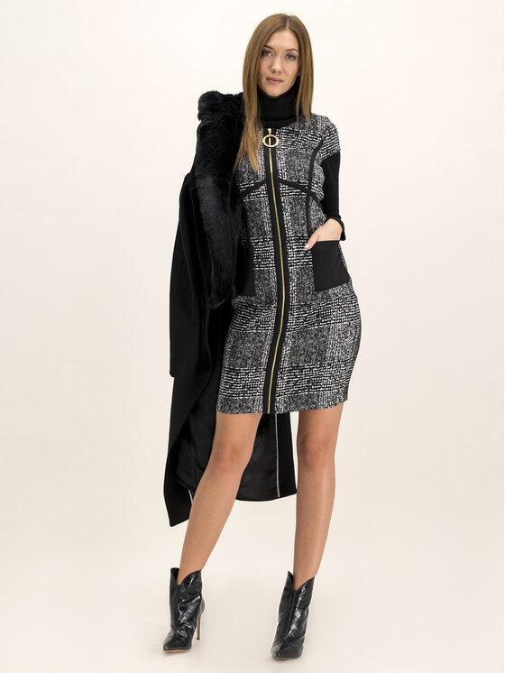 DKNY DKNY Sukienka codzienna DD8JD737 Czarny Slim Fit