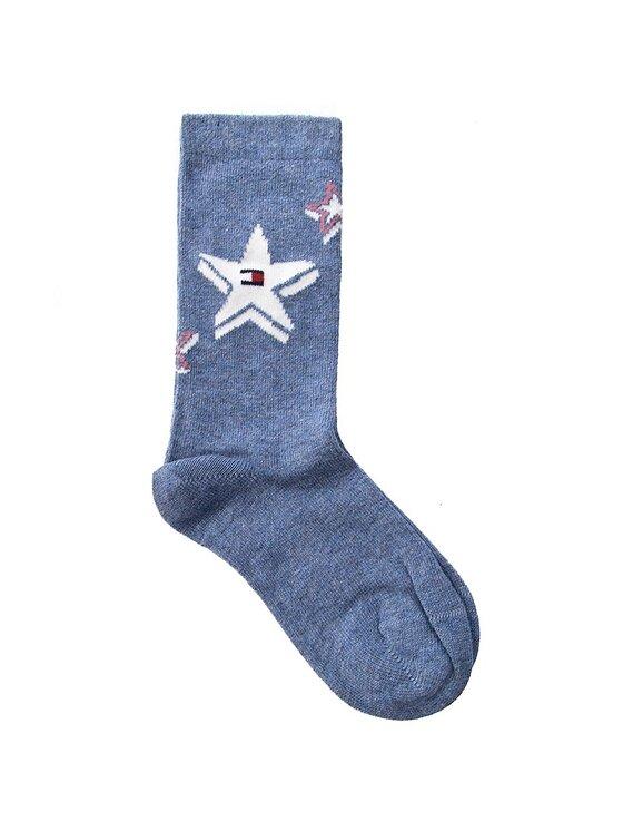 Tommy Hilfiger Tommy Hilfiger Комплект 2 чифта дълги чорапи детски 474005001 Син