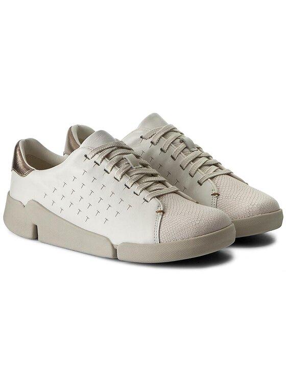 Clarks Clarks Sneakers Tri Abby 261194924 Blanc