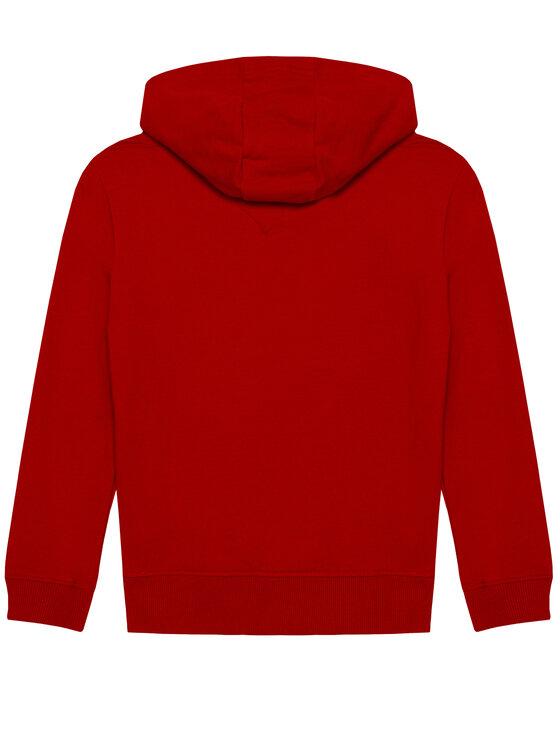 Tommy Hilfiger Tommy Hilfiger Bluza Essential KB0KB05796 D Czerwony Regular Fit