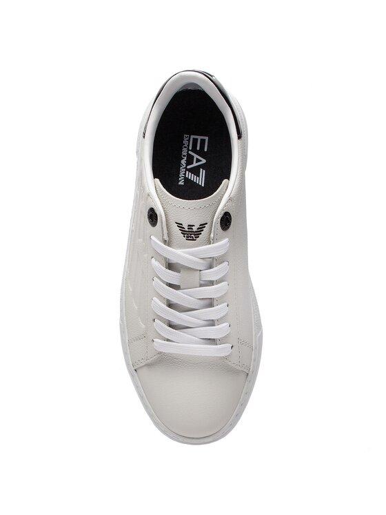 EA7 Emporio Armani EA7 Emporio Armani Laisvalaikio batai X8X003 XK003 00001 Balta