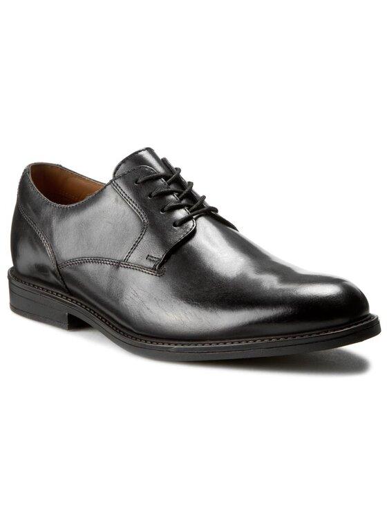 Clarks Clarks Κλειστά παπούτσια Beckfield Walk 261192637 Μαύρο