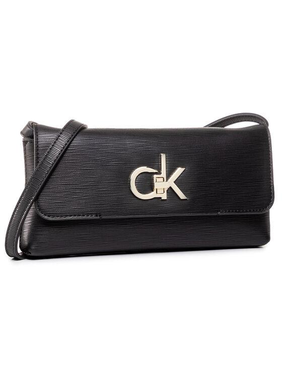 Calvin Klein Calvin Klein Torebka Re-Lock Clutch Md Ep K60K60650 Czarny