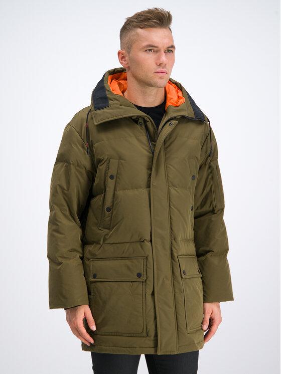 Hugo Hugo Zimní bunda Melmus1941 50411520 Zelená Relaxed Fit