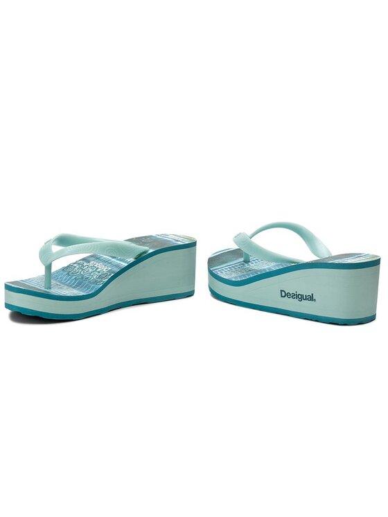 Desigual Desigual Flip-flops Lola 74HSED7/5013 Kék