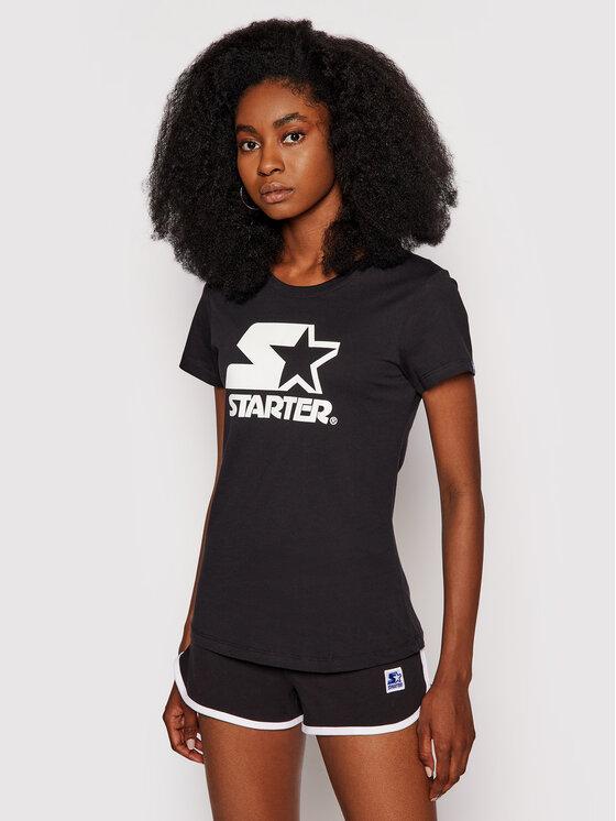 Starter Marškinėliai SDG-005-BD Juoda Regular Fit
