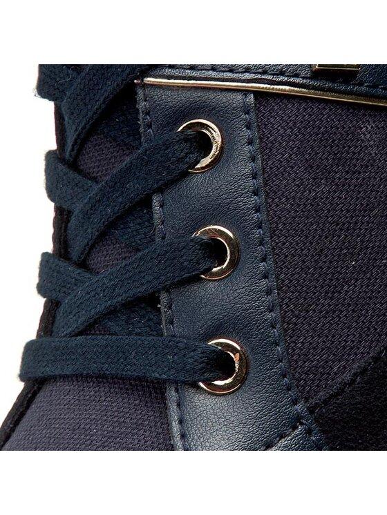 Tommy Hilfiger Tommy Hilfiger Laisvalaikio batai Sebille 10D FW56820807 Tamsiai mėlyna