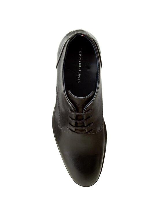 Tommy Hilfiger Tommy Hilfiger Κλειστά παπούτσια Eric 1A FM0FM00354 Μαύρο