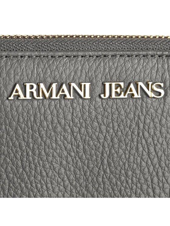 Armani Jeans Armani Jeans Голям дамски портфейл A5V66 V8 42 Сив