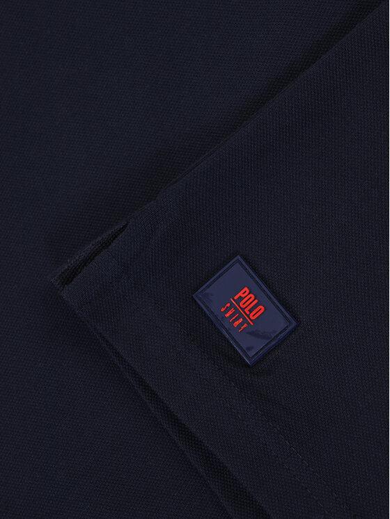 Mayoral Mayoral Тениска с яка и копчета 6143 Тъмносин Regular Fit