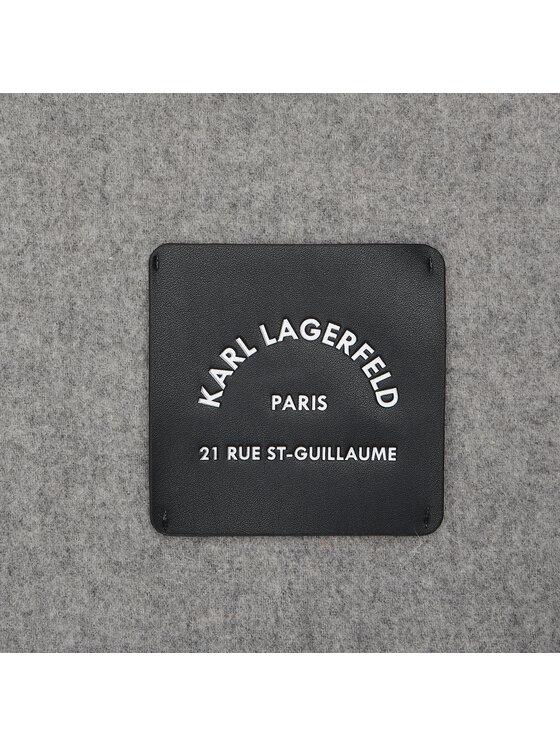 KARL LAGERFELD KARL LAGERFELD Szal 211W3310 Szary
