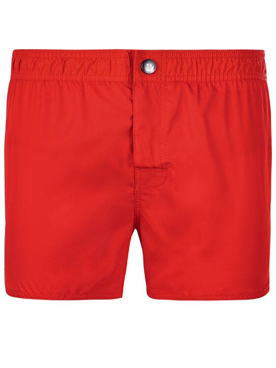 Emporio Armani Emporio Armani Pantaloncini da bagno 211742 9P420 00074 Rosso Regular Fit