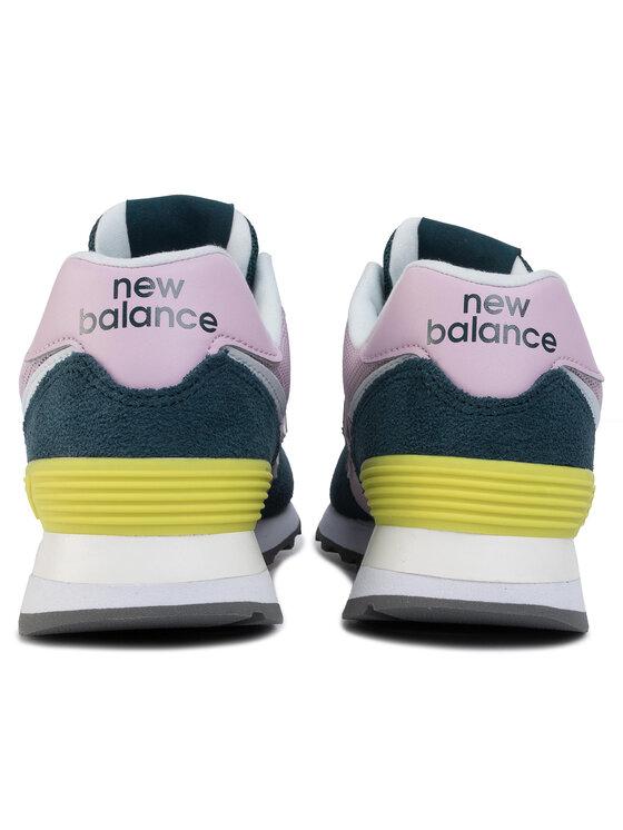 New Balance New Balance Sneakersy WL574NWB Zielony