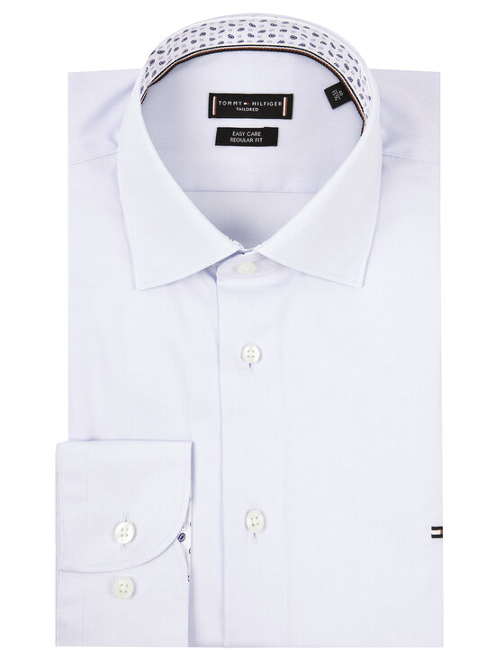 Tommy Hilfiger Tailored Tommy Hilfiger Tailored Koszula Oxford Classic TT0TT06519 Niebieski Regular Fit