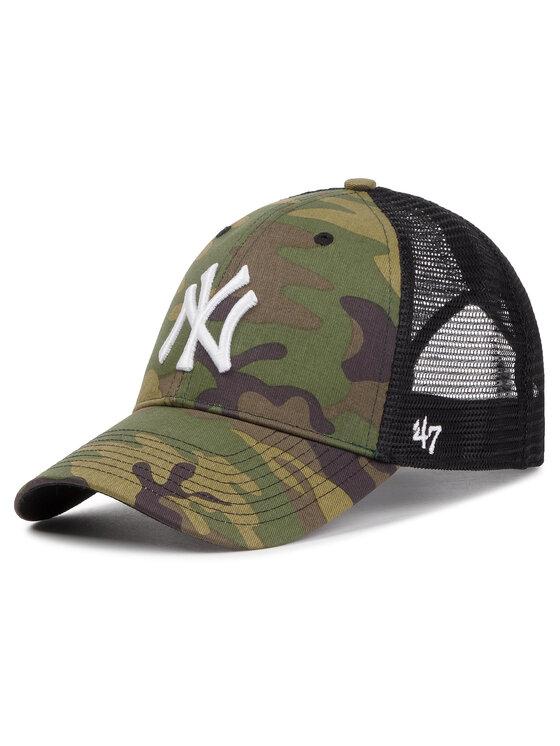 47 Brand Kepurė su snapeliu New York Yankees B-CBRAN17GWP-CMF Žalia