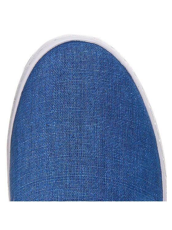TOMMY HILFIGER TOMMY HILFIGER Πάνινα παπούτσια Harry 2E FM56819025 Μπλε