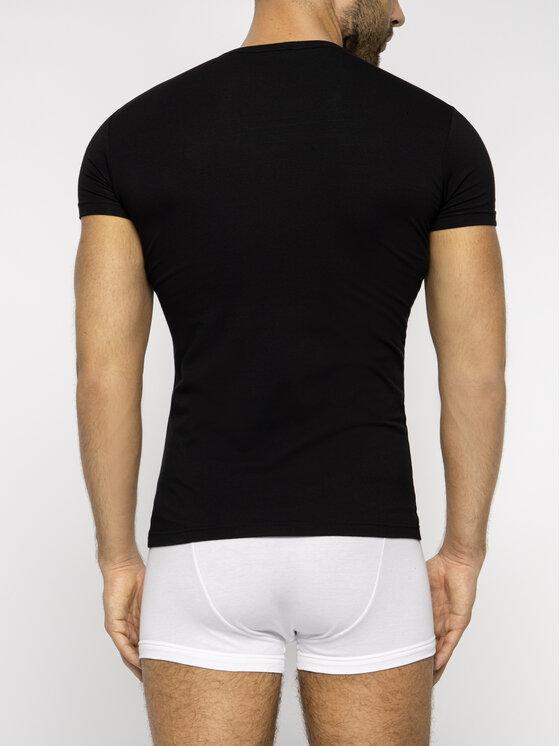 Emporio Armani Underwear Emporio Armani Underwear Komplet 2 t-shirtów 111670 9P715 17020 Czarny Regular Fit