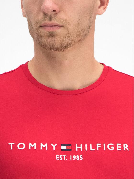 Tommy Hilfiger Tommy Hilfiger T-Shirt MW0MW11465 Červená Regular Fit