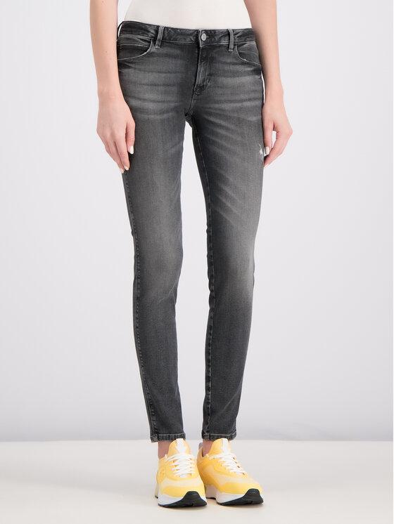Guess Guess Jeans Curve X W93AJ2 D3OY0 Grau Skinny Fit