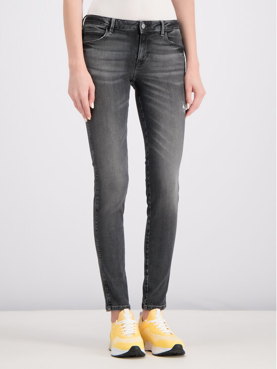 Guess Guess Jeansy Curve X W93AJ2 D3OY0 Szary Skinny Fit