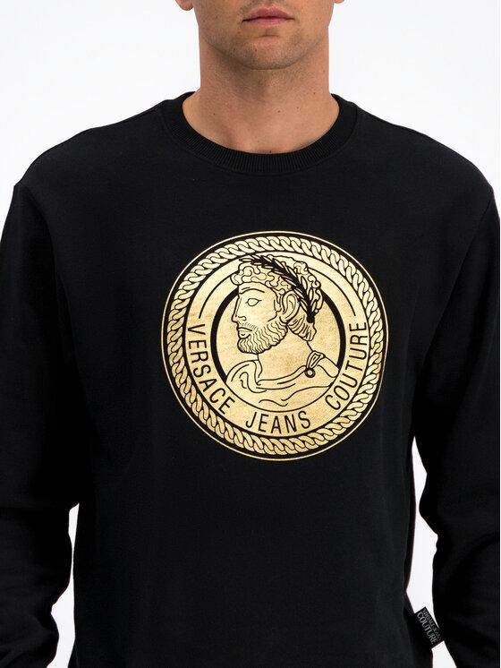Versace Jeans Couture Versace Jeans Couture Sweatshirt B7GUA7FS Schwarz Regular Fit