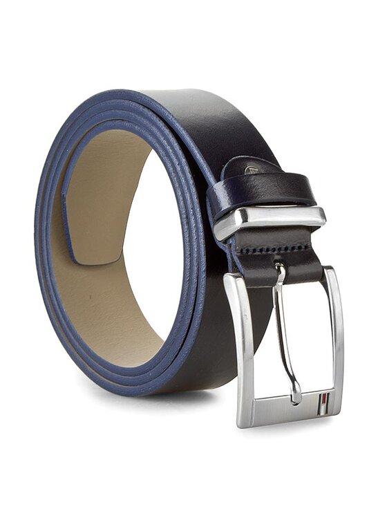 Tommy Hilfiger Tommy Hilfiger Vyriškas Diržas Mick Belt 3.5 Adjustable BM56927538 Tamsiai mėlyna