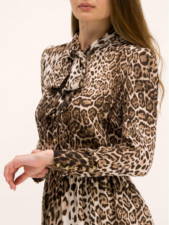Luisa Spagnoli Luisa Spagnoli Kleid für den Alltag Giuditta 536177 Braun Regular Fit