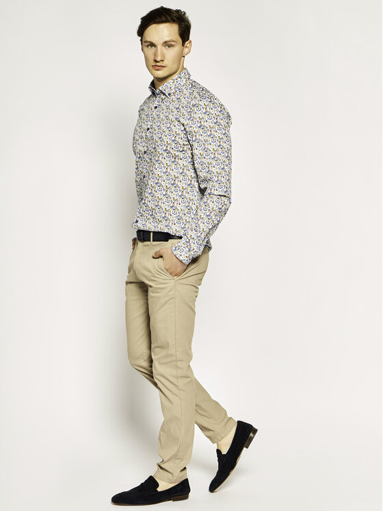 JOOP! Jeans Joop! Jeans Marškiniai 15JJSH-19Heli-W 30019630 Spalvota Regular Fit