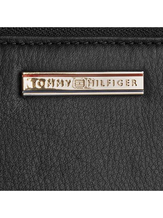 Tommy Hilfiger Tommy Hilfiger Duży Portfel Damski Jacqueline Slim Med Z/A Wallet AW0AW01061 Czarny