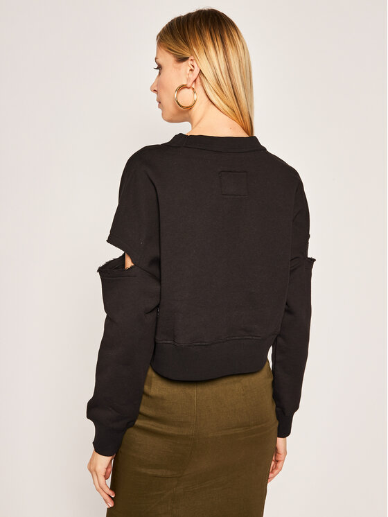 Versace Jeans Couture Versace Jeans Couture Суитшърт B6HVA74T Черен Regular Fit