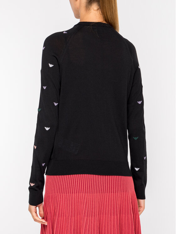 Emporio Armani Emporio Armani Sweater 6G2MTE 2M23Z 0999 Fekete Regular Fit