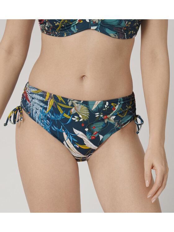 Triumph Bikinio apačia Botanical Leaf 10207934 Tamsiai mėlyna