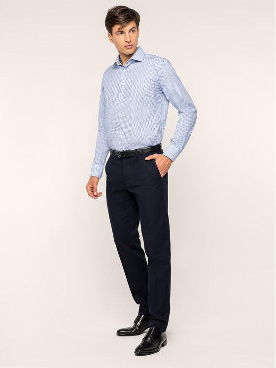 Eton Marškiniai 100000102 Mėlyna Slim Fit