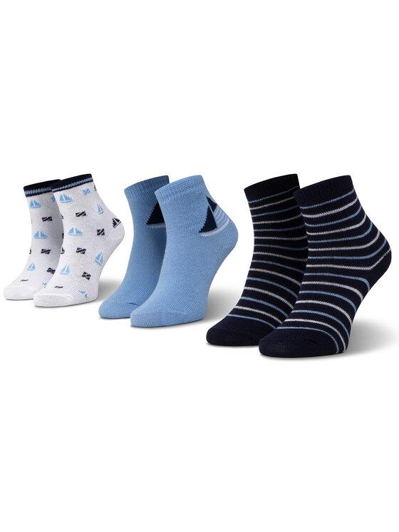 Mayoral Mayoral Sada 3 párů dětských vysokých ponožek 10736 Barevná