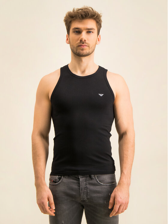 Emporio Armani Underwear Emporio Armani Underwear Tank top 110828 CC735 00020 Čierna Slim Fit
